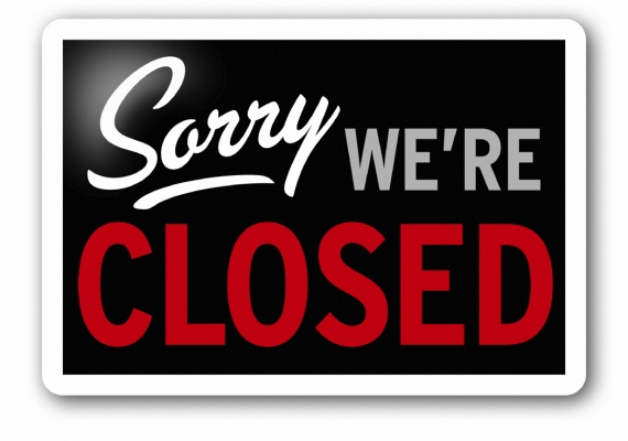 Closed Due to Catering